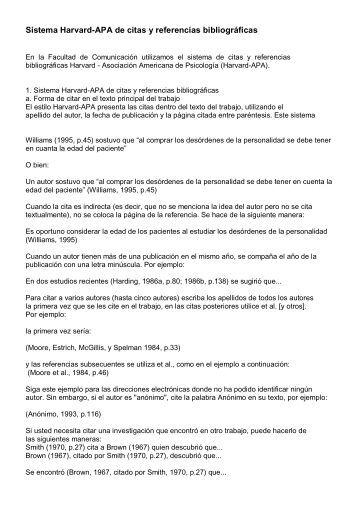 Sistema Harvard-apa De Conocer Y Referencias Bibliográficas Hombre Para Mujer Cartagena-98978